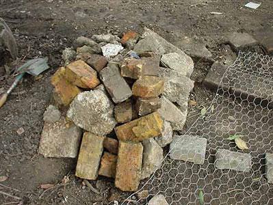 artificial rock base