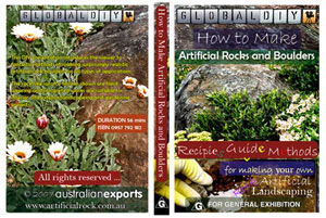 artificial rock making dvd