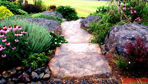 Make your own artificial stone garden steps Staircases DIY