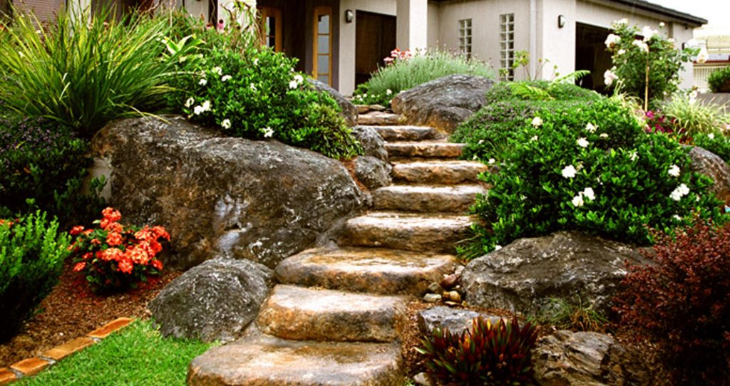 fake rocks for garden. Sandstone Artificial Rock Stairs Fake Rocks For Garden