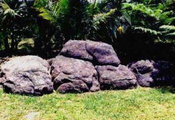 fake rock out crop