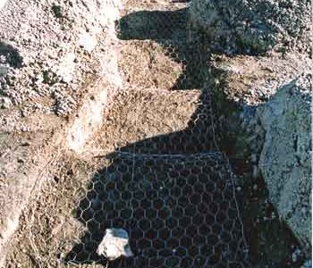 faux rock staircase profile